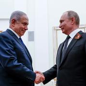 Nétanyahou chez Poutine pour interdire le Golan à l'Iran