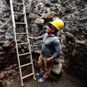 Mexique: découverte d'un temple dans une pyramide à la suite du séisme de septembre