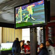La consommation d'électricité chute pendant les matchs de la coupe du monde