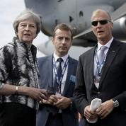 Theresa May tente de rassurer l'industrie aéronautique à Farnborough