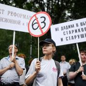 La réforme des retraites passe toujours très mal en Russie