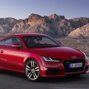 Nouvelle Audi TT : des anneaux en forme olympique