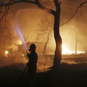 Incendies en Grèce : le gouvernement suspecte «des actes criminels»