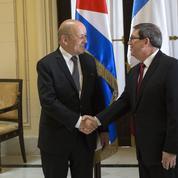 Paris soigne ses bonnes relations avec Cuba