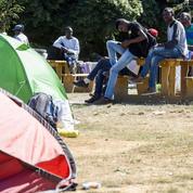 Nantes : expulsés d'un ancien lycée, des migrants retournent en centre-ville
