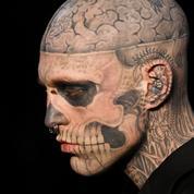 Le mannequin Rick Genest, le Zombie Boy de Lady Gaga, s'est suicidé à 32 ans