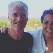 Didier Deschamps rend visite à Bernard Tapie dans sa villa de Saint-Tropez