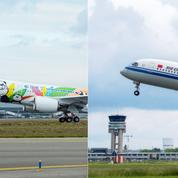 Airbus livre ses deux premiers A350 en Chine