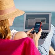 En vacances, les Français restent surtout connectés pour leurs loisirs