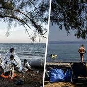 À Lesbos, les touristes sont de retour sur les plages où s'échouaient les réfugiés en 2015