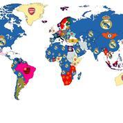 Le Real Madrid, club le plus recherché dans le monde sur Internet