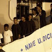 Italie : les migrants du Diciotti débarqués à Catane