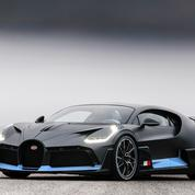 Bugatti Divo, un supercar doué d'agilité