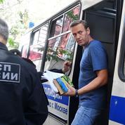 Russie: l'opposant Alexeï Navalny condamné à un mois de prison