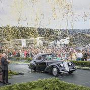 Concours de Pebble Beach : le Best of Show à une Alfa Romeo de 1937