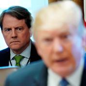 Donald Trump annonce le départ de l'avocat de la Maison-Blanche