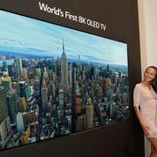 LG présente le premier téléviseur 8K Oled