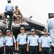 L'armée de l'air se déploie en Asie