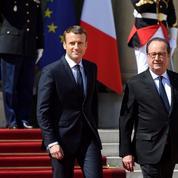 La faible popularité de Macron proche de celle de Hollande à la même période