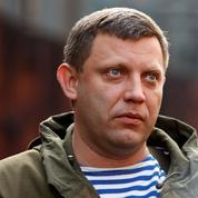 Ukraine : le leader séparatiste du Donbass tué dans une explosion