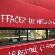 Des tags antisémites ciblent le président de l'université Grenoble-Alpes