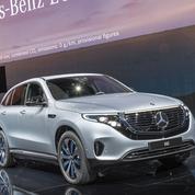 Mercedes EQC, la nouvelle étoile électrique