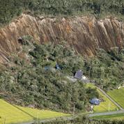 Séisme au Japon : au moins 9 morts après d'énormes glissements de terrain