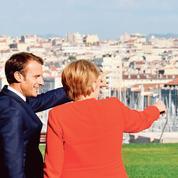 Macron cajole Merkel à Marseille
