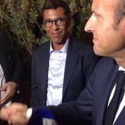 À Marseille, Macron et Mélenchon mettent en scène une rencontre nocturne