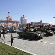 La Corée du Nord célèbre son 70e anniversaire avec une parade militaire géante