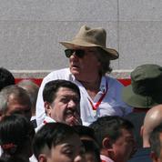 Gérard Depardieu et Yann Moix en Corée du Nord pour les 70 ans du régime