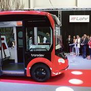 Navette autonome: Transdev fait équipe avec Lohr