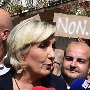 Marine Le Pen chahutée lors de son déplacement dans le Var