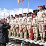 Poutine en commandant en chef des «jeux de guerre»
