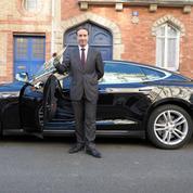 Pour la journée sans voiture à Paris, les taxis G7 offrent la course en Tesla