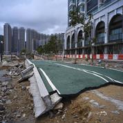 Après les Philippines et Hong Kong, le typhon Mangkhut progresse sur le continent chinois