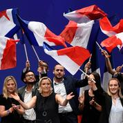 Européennes : Marine Le Pen installe le match entre elle et Macron