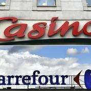 Carrefour-Casino : les marchés sceptiques sur l'intérêt du mariage