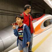 Le TGV chinois jusqu'à Hong-Kong permet de gagner... 15 heures de temps de trajet