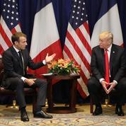 Macron à Trump: «Il serait bon pour le prix du pétrole» que l'Iran puisse en vendre