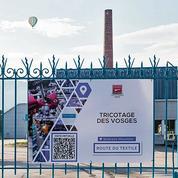 La filière textile développe la première «route numérique» dans les Vosges