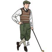 Golf: parcours d'une tenue