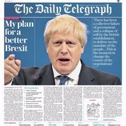 Boris Johnson présente son «plan pour un meilleur Brexit» que celui de Theresa May
