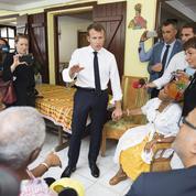 Aux Antilles, Emmanuel Macron tente de déminer sa rentrée ratée