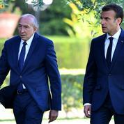 De retour à Lyon, Gérard Collomb prodigue déjà ses conseils à Emmanuel Macron