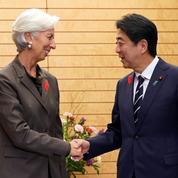 Japon: Christine Lagarde critique les Abenomics