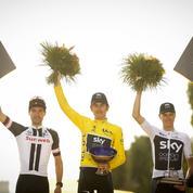 Geraint Thomas s'est fait voler son trophée du Tour de France 2018