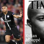 Kylian Mbappé fait la une du prestigieux magazine Time