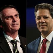 Brésil: quels sont les programmes des deux candidats, Jaïr Bolsonaro et Fernando Haddad?