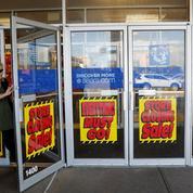 Aux États-Unis, les grands magasins Sears plongent